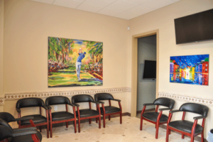 gentle dental center waiting area